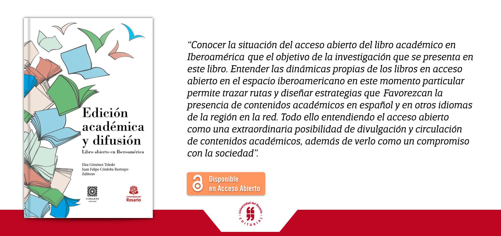 banner Edición Académica y difusión