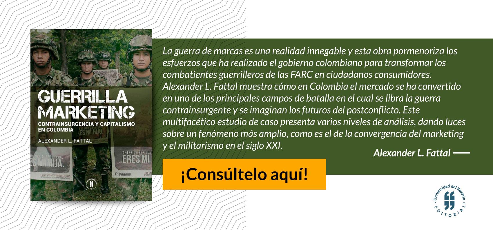 banner Guerrilla marketing contrainsurgencia y capitalismo en colombia